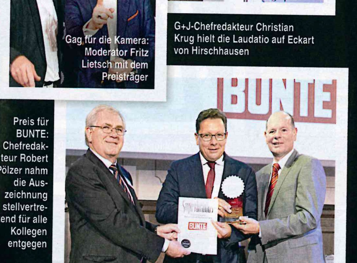 German BUNTE Press 2019