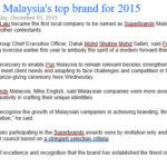Malaysia Media 2015