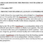 South Africa Media 2007