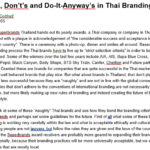 Thailand Media 2005